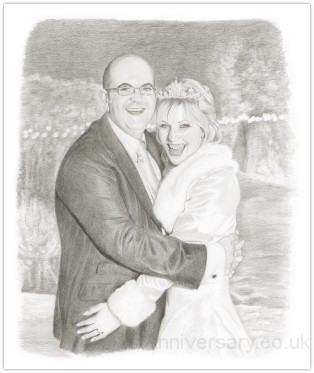 Portrait of Andrew and his wife