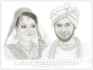 Portrait of Shah and Shumi
